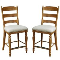 Lake House Ladder Back Counter Stool Product Image