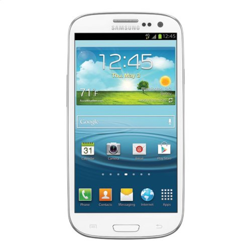 Samsung Galaxy S® III (T-Mobile), Marble White