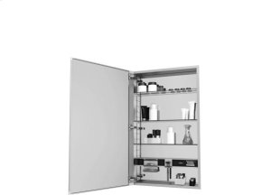 Mirror Cabinet with Plain Edge Door Product Image