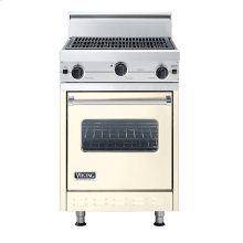 """Biscuit 24"""" Char-Grill Companion Range - VGIC (24"""" wide range with char-grill, single oven)"""