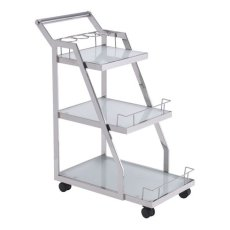 Acropolis Serving Cart Stainless Steel Product Image