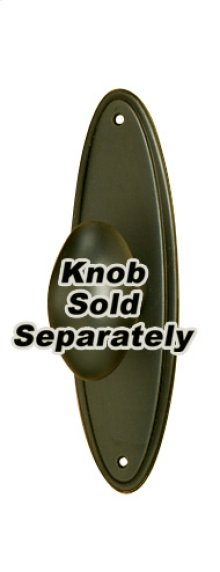 Escutcheon A1225-3 - Chocolate Bronze