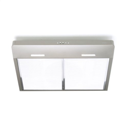 Corteo 30-Inch 300 CFM Slate Range Hood with LED light