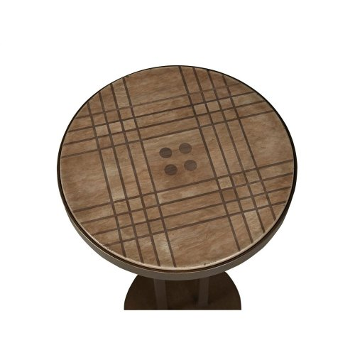Button Top Scatter Table