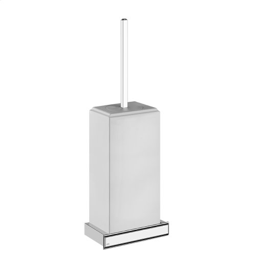 Wall-mounted brush holder in Neolyte
