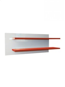 Wall Shelf Red/white