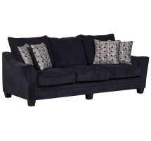 Ventura Blue Sofa Love Chair U0059