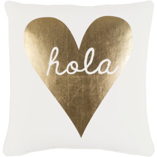"Glyph GLYP-7115 18"" x 18"" Pillow Shell with Polyester Insert"