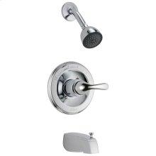 Chrome Monitor ® 13 Series Tub & Shower Trim