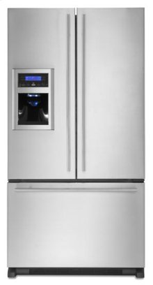 Full-Depth French Door Refrigerator with External Dispenser