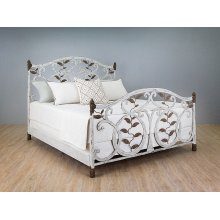 Laurel Iron Bed