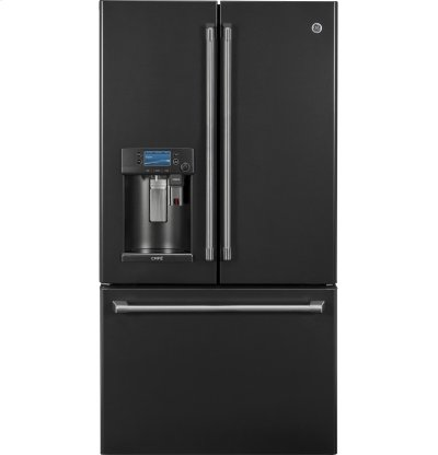 GE Cafe™ Series ENERGY STAR® 22.2 Cu. Ft. Counter-Depth French-Door Refrigerator with Keurig® K-Cup® Brewing System Product Image