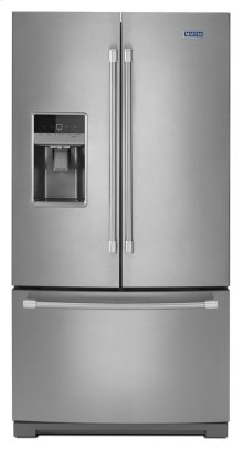 36-inch Wide French Door Refrigerator with PowerCold Feature - 25 cu. ft.