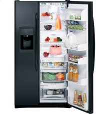 GE Profile Counter-Depth 22.6 Cu. Ft. Side-by-Side Refrigerator with Integrated Dispenser