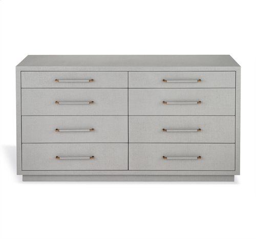Taylor 8 Drawer Chest - Grey