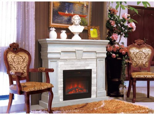 HB100FP Heron Bay Fireplace