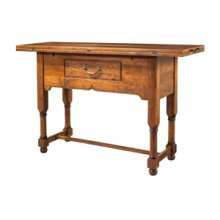 Counter Height Flip Top Console Table