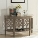 Parkdale - Demilune Sofa Table - Dove Grey Finish Product Image