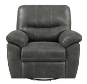 Emerald Home Nelson Swivel Glider Charcoal U3472-04-03 Product Image