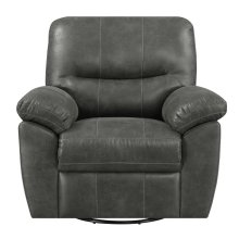 Emerald Home Nelson Swivel Glider Charcoal U3472-04-03