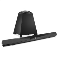 SB 300 TV soundbar with wireless subwoofer, coaxial and optical digital in