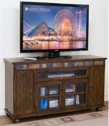 Santa Fe Counter Height TV Console
