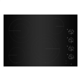 """30"""" Oblivion Glass Radiant Cooktop with Halo-Effect Knobs"""