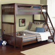 Twin Over Twin BunkBed Set Product Image
