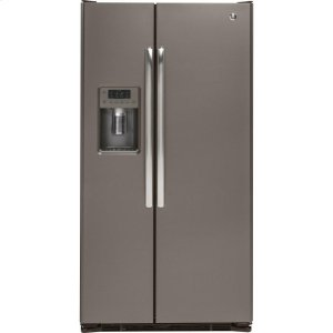 ®21.9 Cu. Ft. Counter-Depth Side-By-Side Refrigerator - SLATE