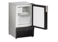 """Marine Series 15"""" Marine Crescent Ice Maker With Stainless Solid Finish and Field Reversible (no Flange) Door Swing"""