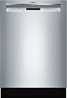 """24"""" Recessed Handle Dishwasher 300 Series- Stainless steel SHE53TF5UC"""