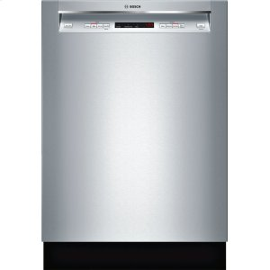 "Bosch24"" Recessed Handle Dishwasher 300 Series- Stainless steel SHE53TF5UC"