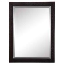 Briana (tm) Rectangular Mirror - Black Ash