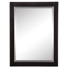 Briana (tm) Rectangular Mirror - Black Ash