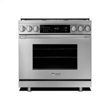 """36"""" Heritage Dual Fuel Pro Range-SS Natural Gas"""