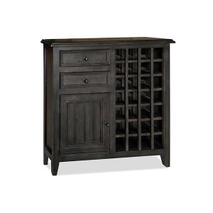 Hillsdale FurnitureTuscan Retreat(r) Rose Bay Wine Rack - Weathered Gray