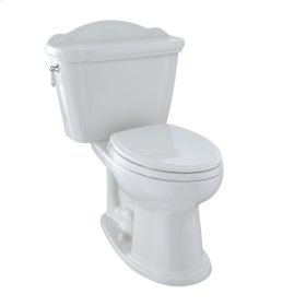 Eco Whitney® Two-Piece Toilet, 1.28 GPF, Elongated Bowl - Colonial White