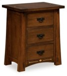 Castlebrook 3 Drawer Nightstand Product Image