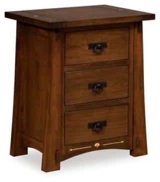 Castlebrook 3 Drawer Nightstand
