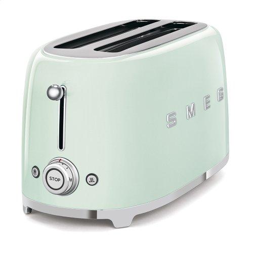 4 Slice Toaster, Pastel green