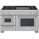Thermador60-Inch Pro Grand(R) Commercial Depth Dual Fuel Steam Range