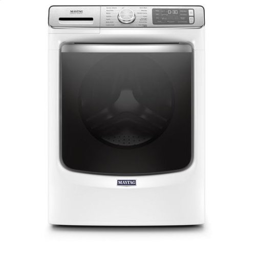Maytag® Smart Front Load Washer with Extra Power and 24-Hr Fresh Hold® option - 5.0 cu. ft. - White
