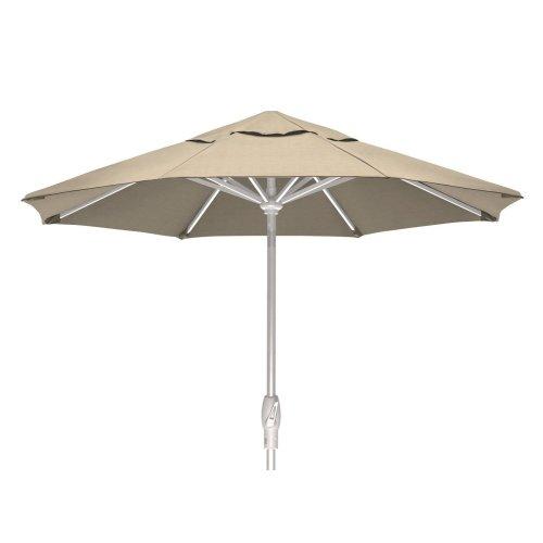 Value Market Umbrella 7 1/2' Market Umbrella w/ Powdercoat Aluminum Frame and Push Button Tilt