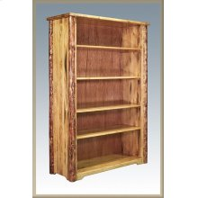 Glacier Country Log Bookcase