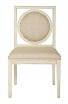 Salon Side Chair in Alabaster (341)