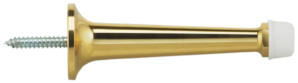 Door Stop in US3 (Polished Brass, Lacquered)