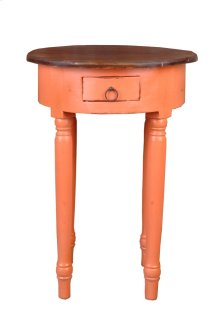 Sunset Trading Cottage Round Accent Table - Sunset Trading