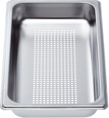 "Perforated pan - Half Size, 1 5/8"" deep"