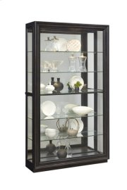 Rockford Mirrored Two Way Sliding Door Curio Product Image