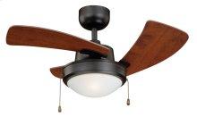 """Wolcott 36"""" Ceiling Fan New Bronze"""